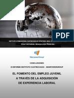 Conclusiones del III Informe ManpowerGroup - Cuatrecasas
