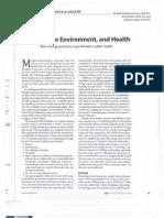 Fracking - Environment & Health AJN 2013