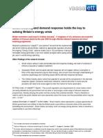 VaasaETT Demand response and Smart metering
