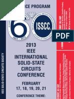 ISScc 2013 Advance Program