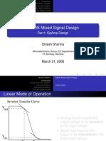 CMOS MIXED SIGNAL DESIGN PART 1