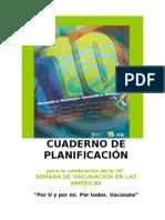 Cuaderno de Planificacion SVA 2012 Spanish