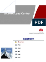 WCDMA Load Control for XXX Workshop