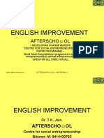 English Improvement 7 Novemberi