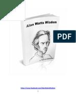 Alan Watts Wisdom the Book