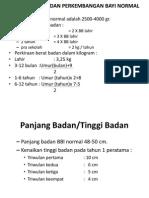 PPT Pertumbuhan Dan Perkembangan Sesuai Usia
