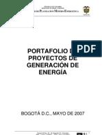 Portafolio Proyectos Generacion Mayo 2007