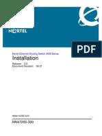 NN47205-300 04.01 Installation de Equipo