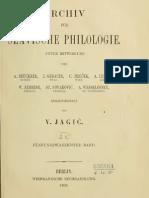 Archiv für slavische Philologie 25