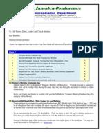 Communication Advisory for June 8-2013