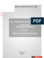 Pge - Manual Portal Educacional
