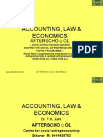 Accounting, Law & Economics 28 November1