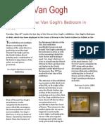 Van Gogh's Bedroom in Arles Exhibition Review
