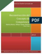 Reconstrucción del  Concepto de Competencia
