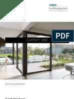 Confort 160 - super thermisch aluminium schuifdeur - Sapa Building System