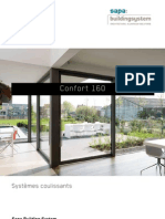 Confort 160 - coulissants en aluminium haute performance - Sapa Building System