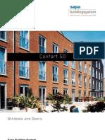 Confort 50 - aluminium windows and doors - Sapa Building System