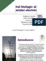 Efectul Biologic Al Curentului Electric