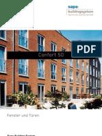 Confort 50 - Aluminium Fenster und Türen - Sapa Building System
