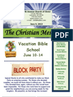 June 9 Newsletter