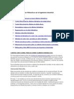 Valvulas Hidraulicas en La ING Industrial.