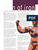 Iron in the diet