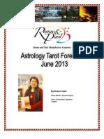 Astro Tarot - June 2013