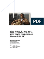 Cisco Phone User Guide