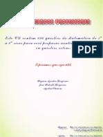 BONJORNO - PROBLEMAS DE MATEMÁTICA - 896 EXERCÍCIOS
