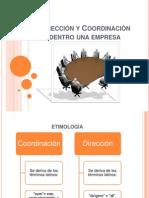 Dirección y Coordinación dentro de una empresa