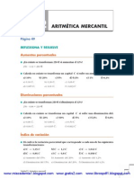 Unidad 2 Aritmetica Mercantil - Soluciones