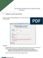 Guia de configuración Archivo encriptado de Conexión a Base de Datos
