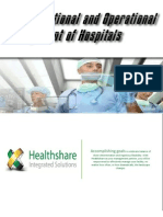 35358 0 Healthshare Pre Operational and Operational Management of a Hospital
