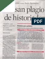 Acusan Plagio de Historiador (Reforma, 6-Jun-2013, p.23)