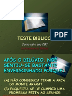 TESTES BÍBLICOS