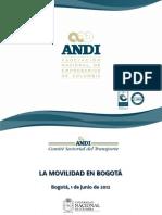 La Movilidad en Bogotá - Viviana Tobón (ANDI)
