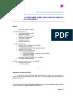 Orientaciones cristianas sobre la participación política
