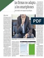 Empresas No Aprovechan Potencial Smartphones