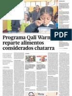 Programa Qali Warma Peru