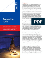 Gender Dimensions of the Adaptation Fund -  Exploring the gender dimensions of climate finance mechanisms - July 2011