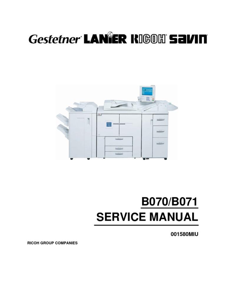 2105 Service Manual Ricoh Image Scanner Debugging Fuse Box Diagram For 2006 Mercedes Benz S43
