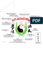 Kajukenbo Logo With Explanation