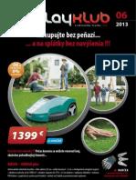 Leták PlayKlub 6/2013
