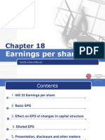 IFRS Chapter 18 Earnings Per Share