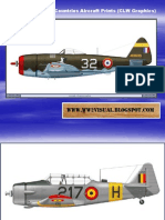 WW II Other Allied Countries Aircraft Prints (CLW Graphics)