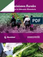 Ecofeminismo Rural