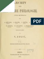 Archiv für slavische Philologie 26