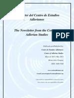 Newsletter Nº 8 Centro de Estudios Adlerianos