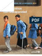 EMI_2013 Niños con discapacidad en el mundo UNICEF
