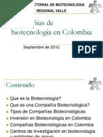 Compañías de biotecnología en Colombia